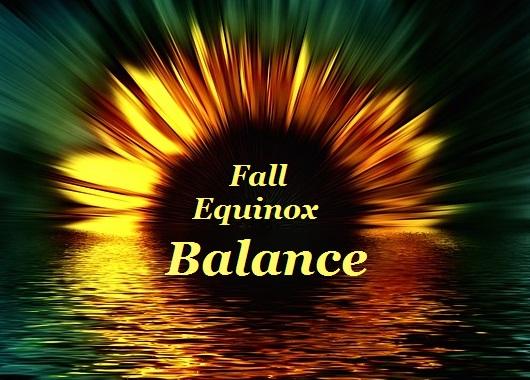 Fall Equinox Balance