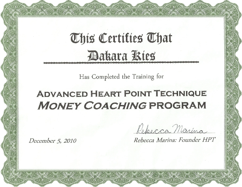 HPT Money Coaching Program